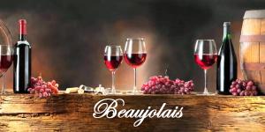 Bouteille Beaujolais etiquette