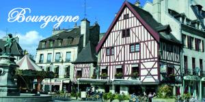 Ville Bourgogne etiquette